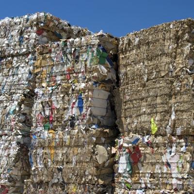 Letne količine odpadkov v Sloveniji