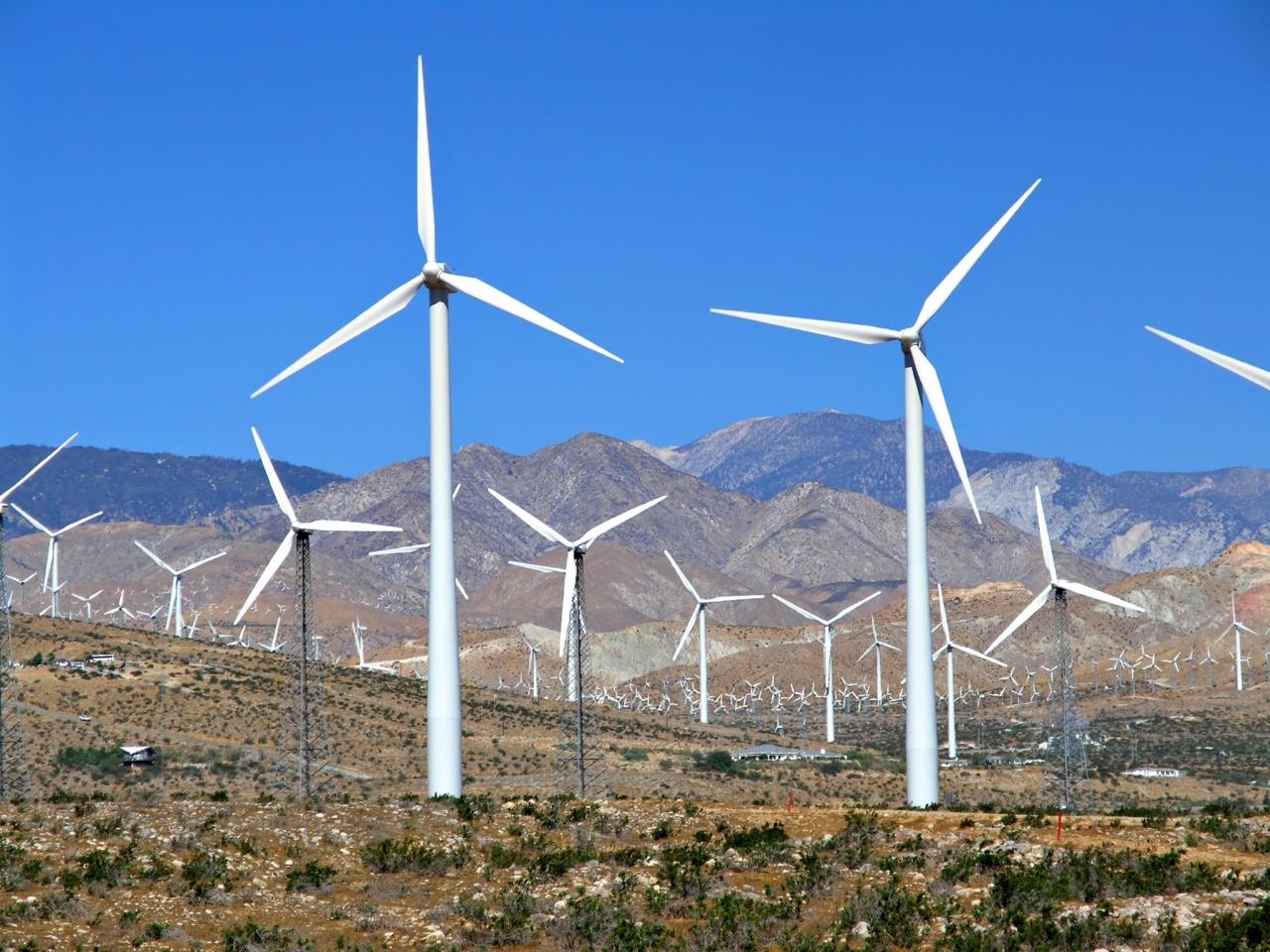 Podnebni vplivi vetrne energije